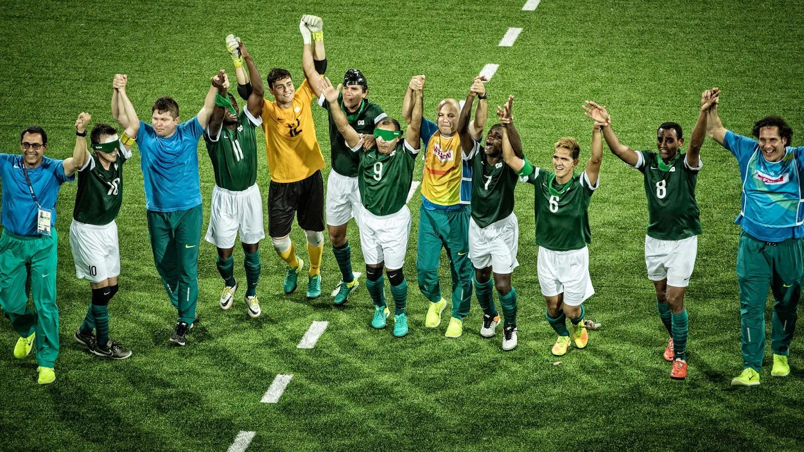 Seleção Brasileira de futebol de 5 é indicada a prêmio do IPC ... ae39e98b9092d