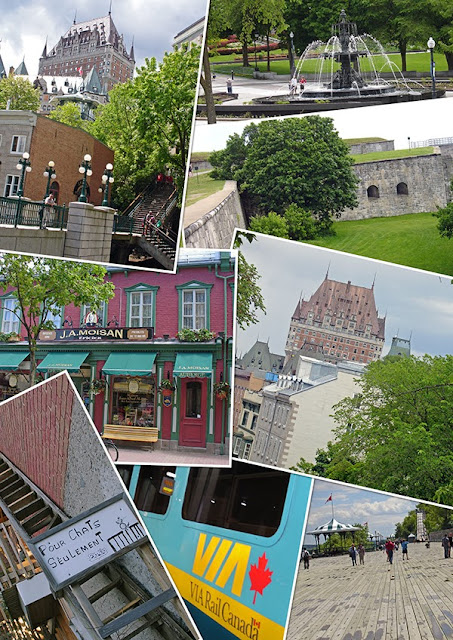 Collage photo de la ville de Québec