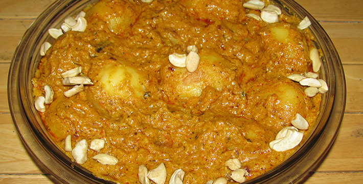 मुगलई दम आलू - पाककला | Mughlai Dum Aloo - Recipe