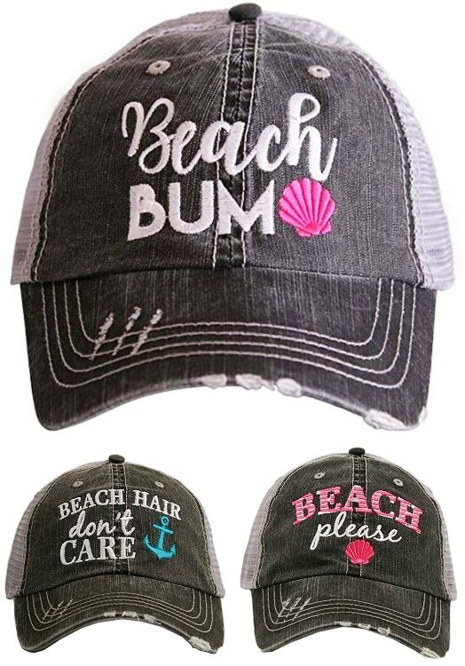 Distressed Baseball Caps