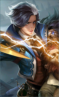 Gusion Hairstylist Heroes Assassin Mage of Skins V2