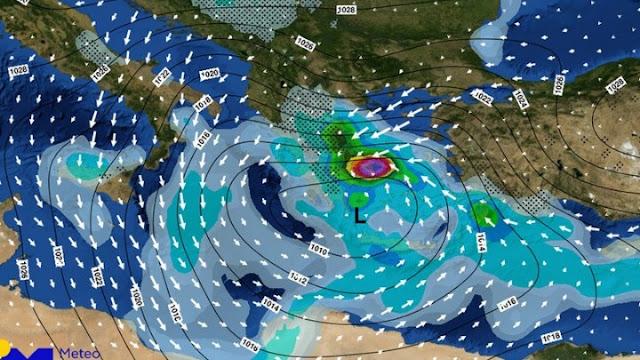 Τα νεότερα προγνωστικά στοιχεία για τα έντονα κύματα κακοκαιρίας «Ραφαήλ» και «Σοφία»