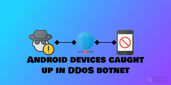 Android devices caught up in DDoS botnet