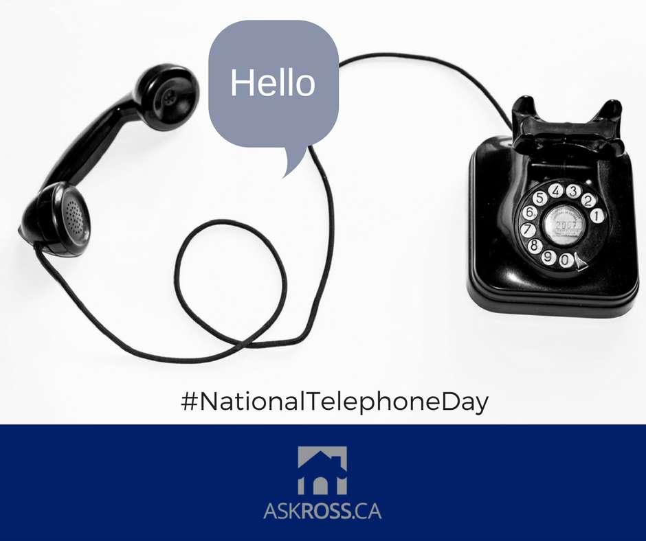 National Telephone Day Wishes Beautiful Image