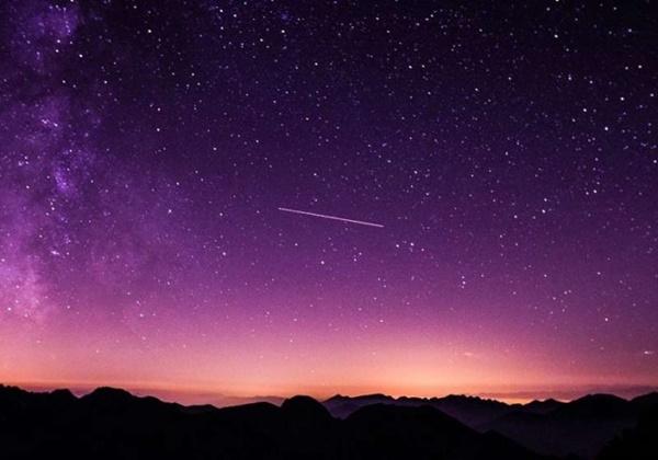 Chuva de estrelas cadentes será esta noite
