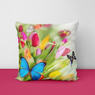 mauve cushion covers