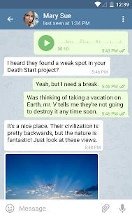 تحميل تطبيق الدردشة Telegram