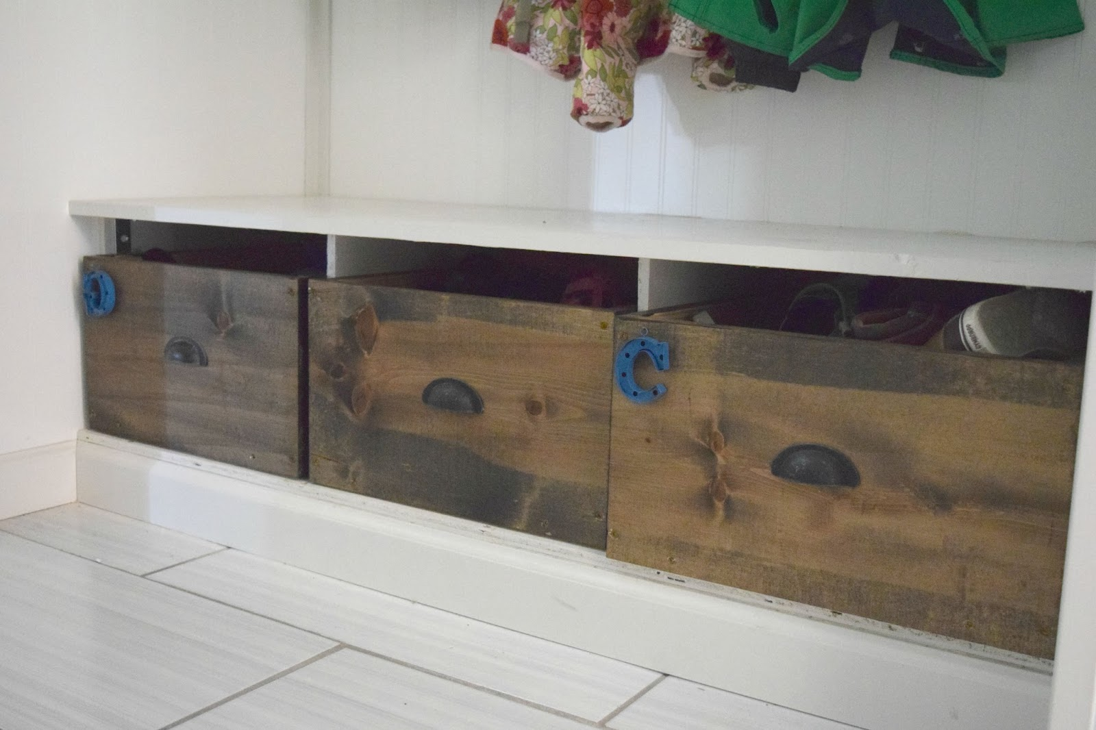 Diy Wood Shoe Box Organizer Our House Now A Home
