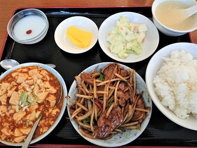 マーボー豆腐+ニラレバーセット