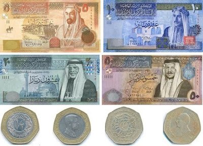 Countries and Currency Jordan