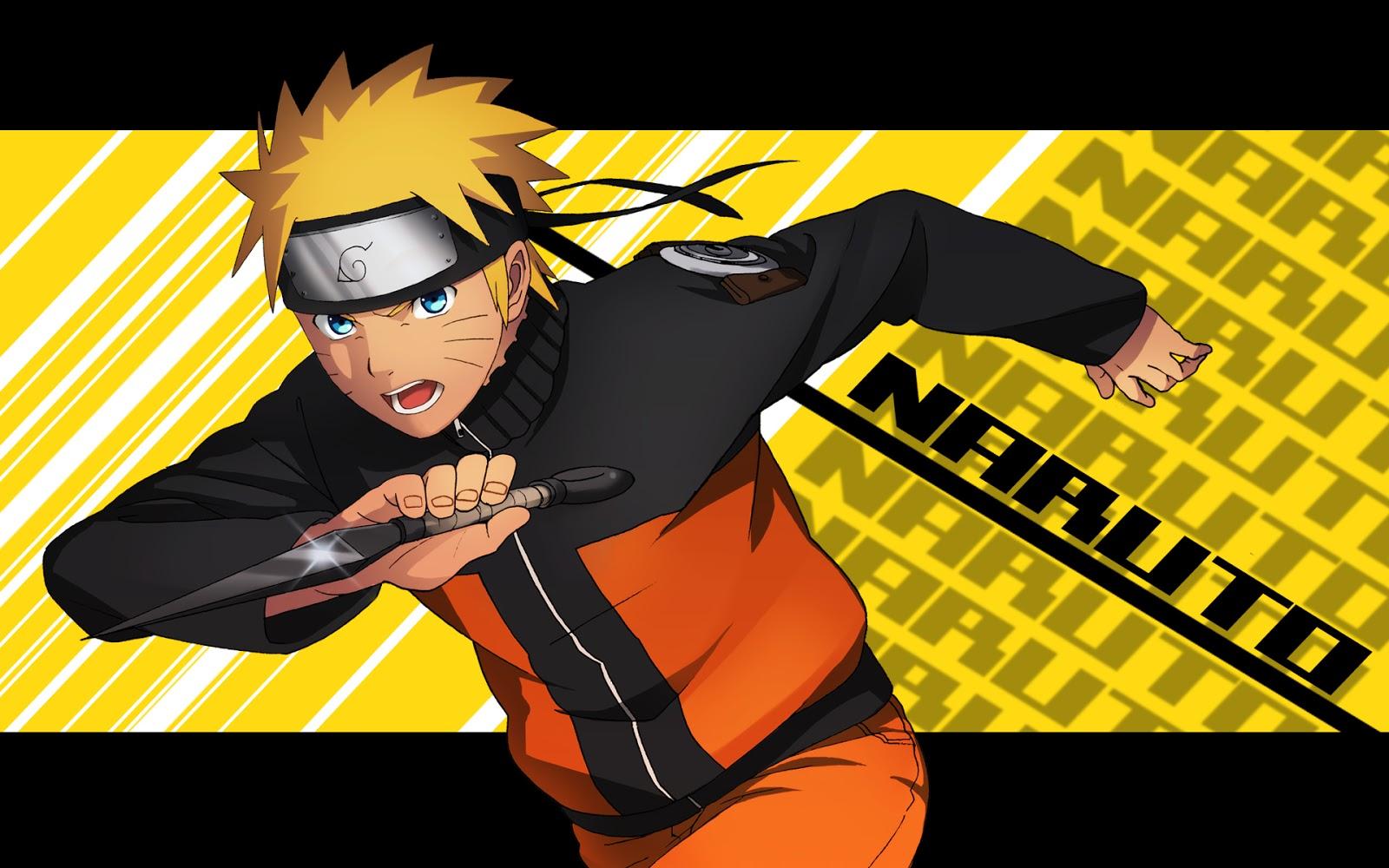 ANIME - WALLPAPER - GAMES: Uzumaki Naruto