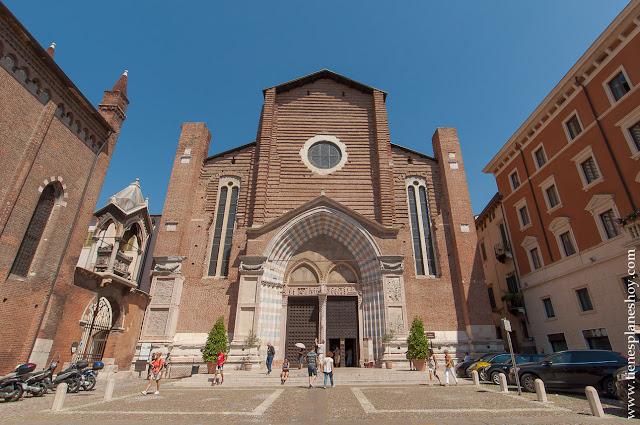 Que ver en Verona Iglesia de Santa Anastasia