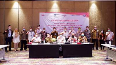OJK, BP TAPERA, IJK dan Pemprov Lampung Bersinergi dalam Program Kepemilikan Rumah Layak bagi MBR
