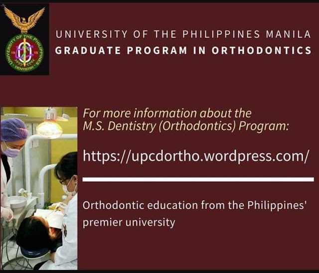 UPCD Now Accepting Applications for the SY 2020 Post Graduate Program in Orthodontics