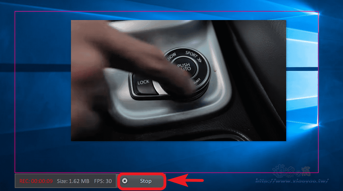 ChrisPC Screen Recorder 螢幕錄影截圖軟體