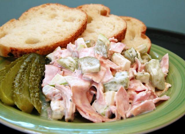 Cooking Weekends: Fleischsalat, German Meat Salad