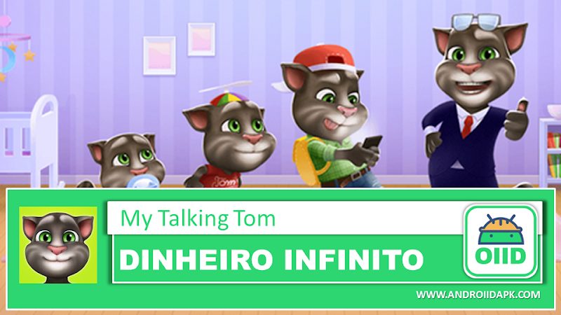 My Talking Tom v5.5.3.480 – APK MOD HACK – Dinheiro Infinito
