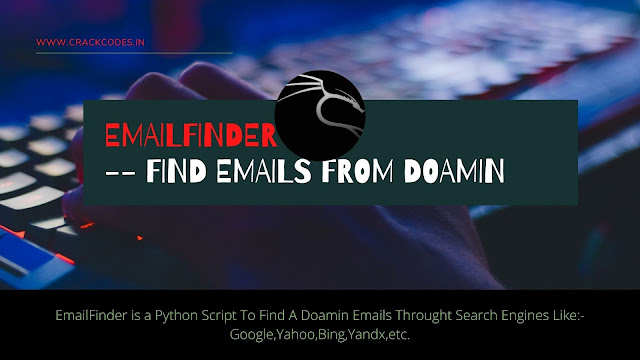 EmailFinder -- Find Emails From Doamin