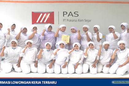 Lowongan Kerja PT. Prakarsa Alam Segar ( Wings Group - Mie Sedap )