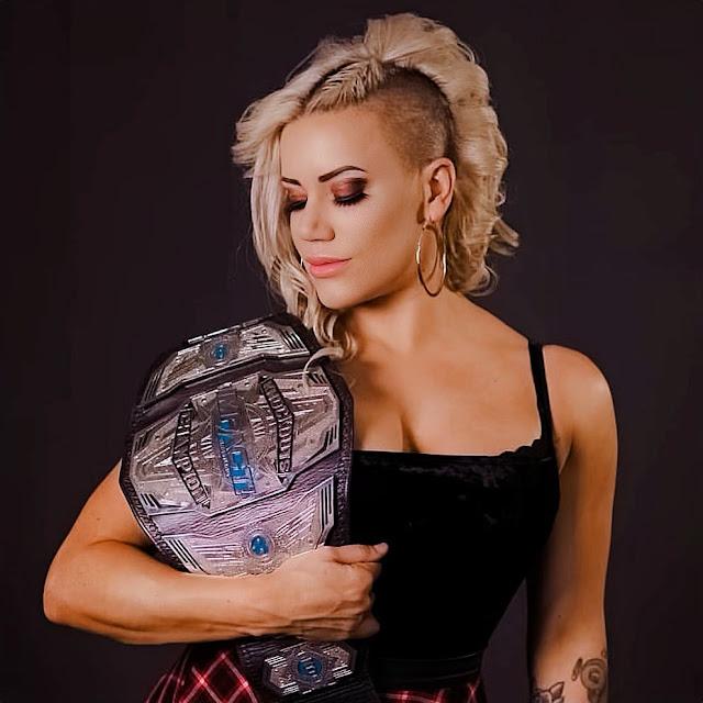 Taya Valkyrie Wins The Reina de Reinas Championship At AAA's Invading NY