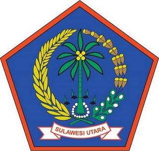 logo provinsi sulawesi utara pada daftar kota di provinsi sulawesi utara