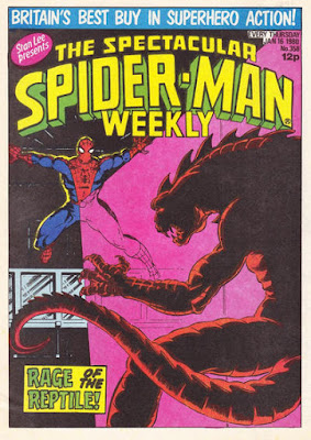 Spectacular Spider-Man #358, the Iguana