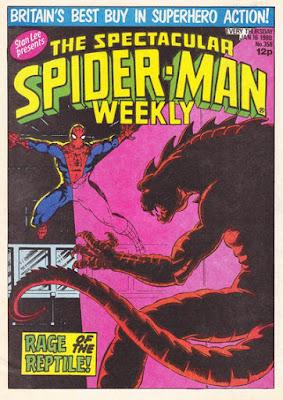 Spectacular Spider-Man #358, the Iguana