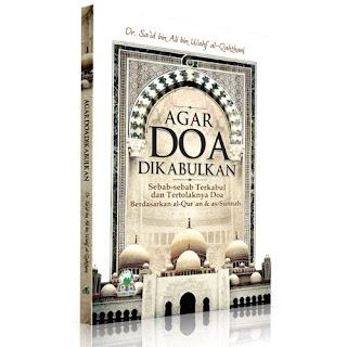 Buku Agar Do'a di Kabulkan