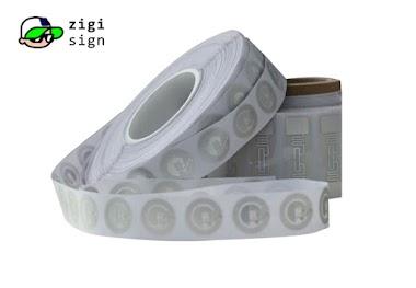 Zigi Sign RFID/NFC Stickers