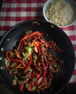 Healthy Beef Stir Fry #healthystirfry #beefstirfry