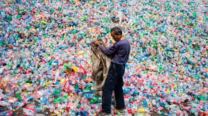 26 thousand of plastic waste dump daily
