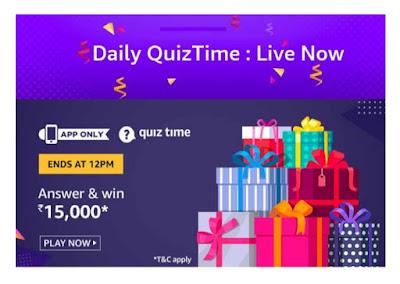 28th October Amazon quiz
