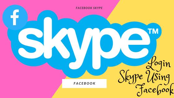 Login Skype Using Facebook