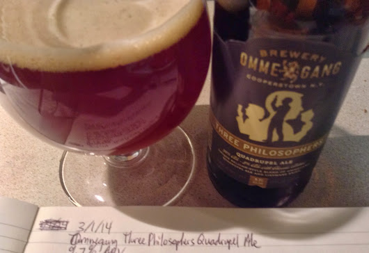 Review: Ommegang Three Philosophers Quadrupel Ale