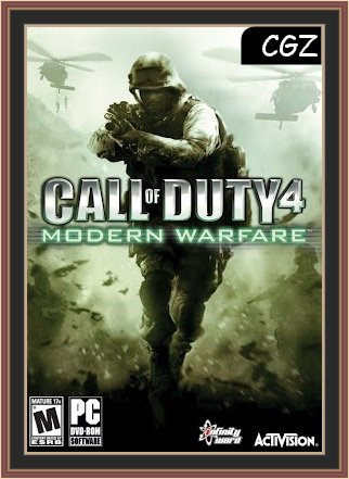 Call of Duty 4 - Modern WarfarePc Download Full (Poster)