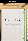 Apni Kaksha: Class 12 Chemistry Notes By Aman Dhattarwal