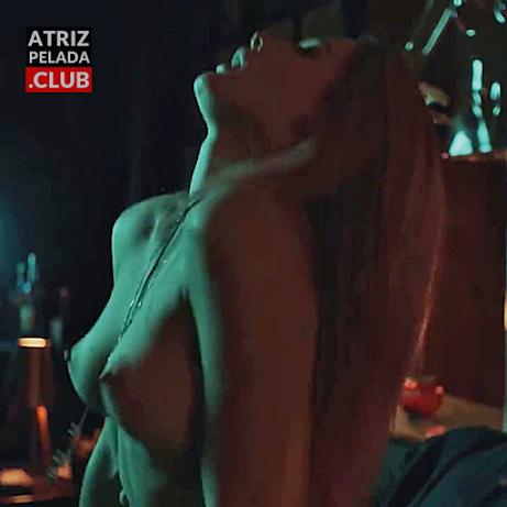 """Fiorella Mattheis pelada em cena de sexo na série """"Rua Augusta"""""""