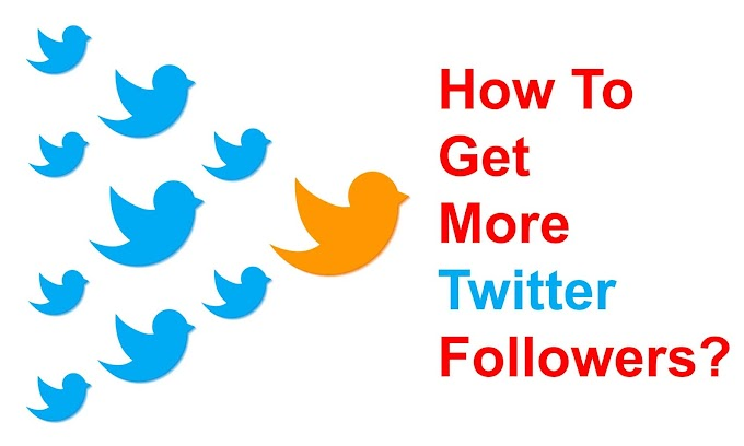 8 steps for more Followers on Twitter