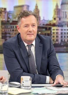 Host of Good morning Britain Piers Morgan