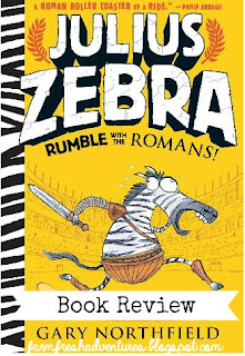 Julius Zebra: Rumble with the Romans ~ Book Review