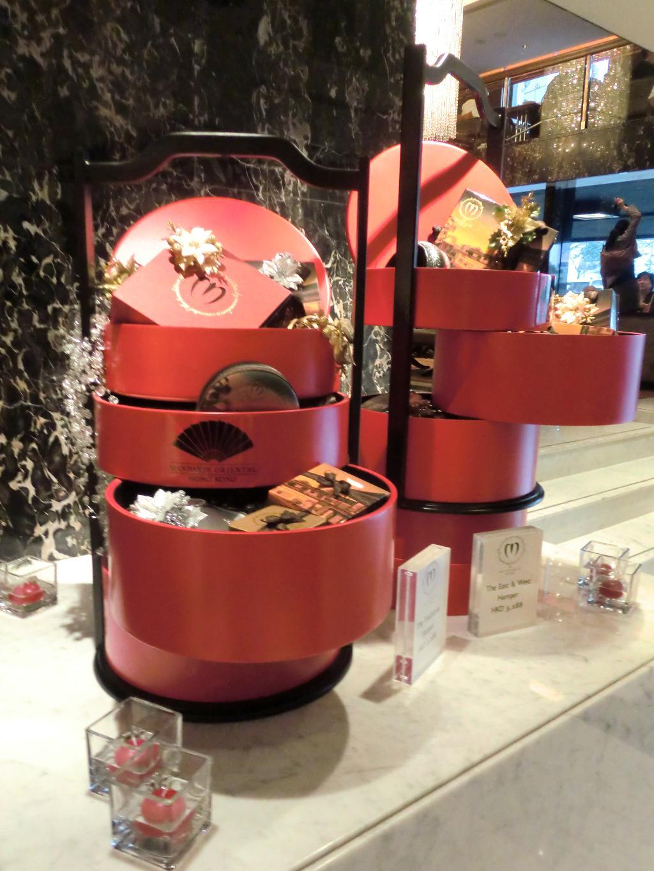 From Japan Christmas Decorations Mandarin Oriental Hong