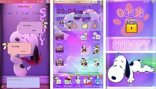 Tema Snoopy itz Untuk Vivo Android
