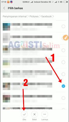 Mengatasi Resolusi Gambar/Foto yang berkurang jika di krim melalui Whastapp
