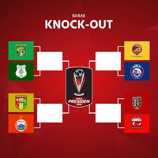 babak delapan besar Piala Presiden 2018
