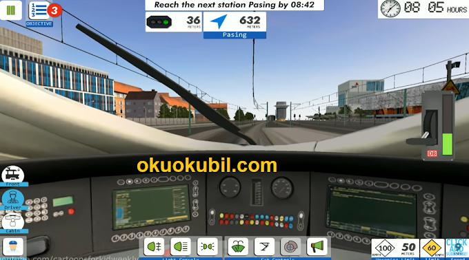 Euro Tren Simülatörü 2 v1.0.9.8 Oyunu Mega Hileli Mod İndir