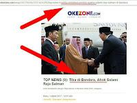 Lho Salahnya Dimana? Sebut Ahok Terdakwa Penista Agama, Okezone Ditegur Dewan Pers