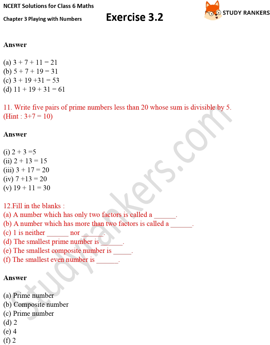 NCERT Solutions for Class 6 Maths Chapter 3 Playing with Numbers Exercise 3.2 Part 4