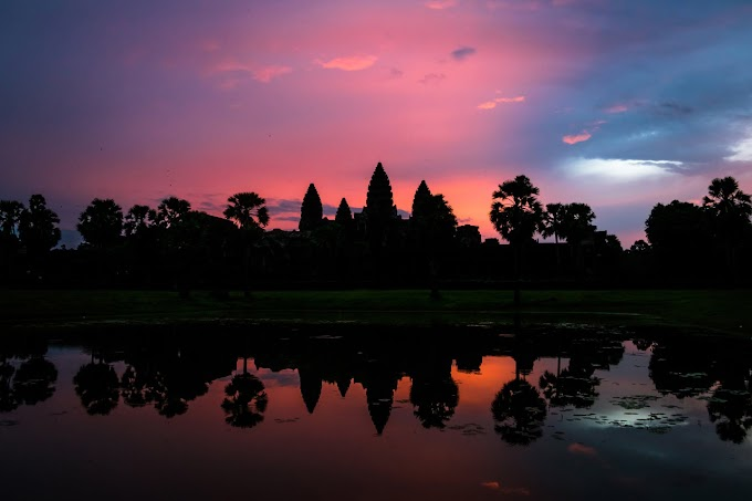 Babymoon (Part-1), Bermalam di KLIA dan Menapaki UNESCO World Heritage Angkor Wat, Siem Reap, Cambodia