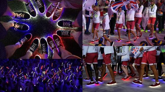 tenis de led olimpiadas