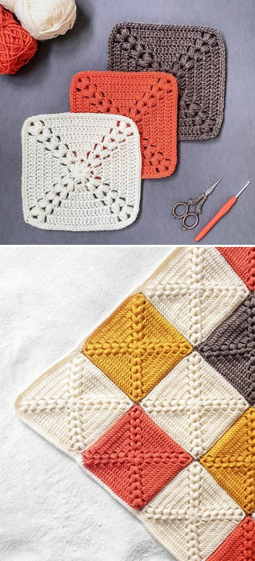 Farmhouse Granny Square - Free Pattern